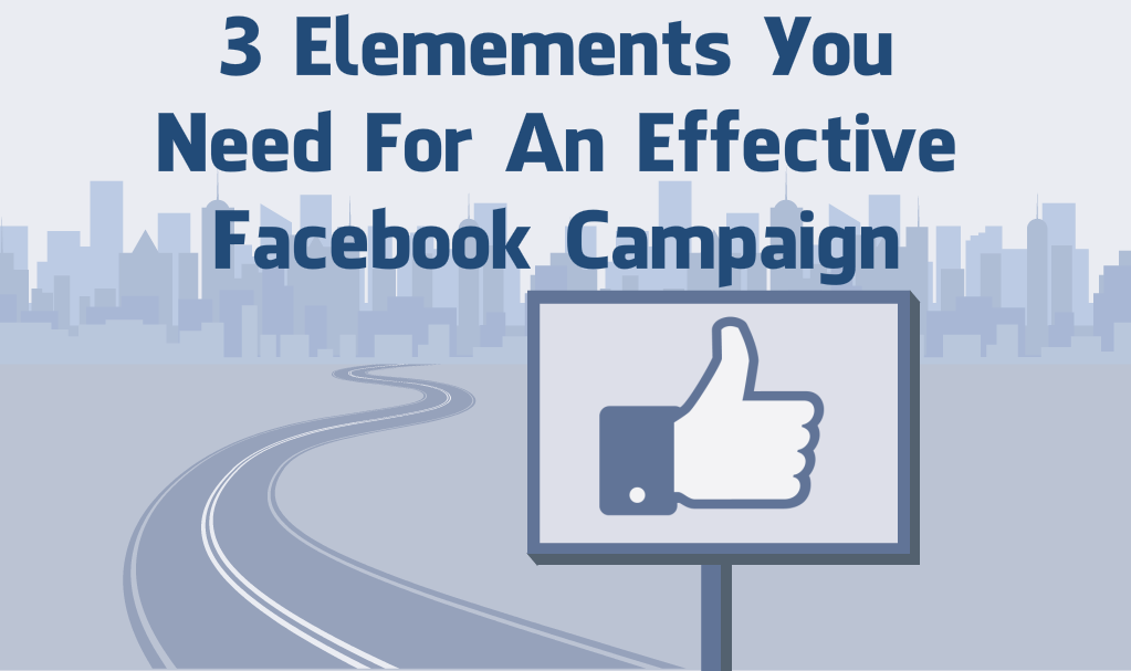 Elements you need to set up an effective facebook ad campaign